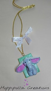 Collana elefantino kawaii