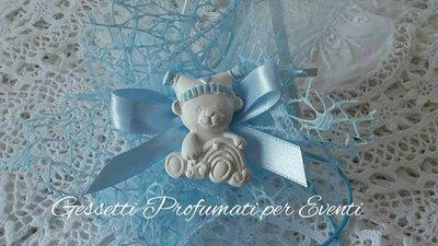 Bomboniera nascita orsetto con cappello