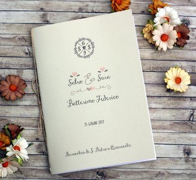 "Libretto Messa Matrimonio ""Spring"""