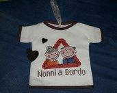 Magliettina nonni a  bordo