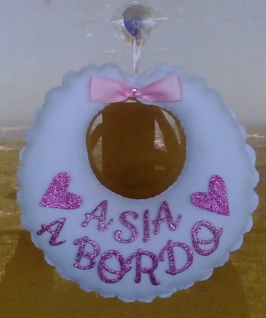 BIMBO/A A BORDO BAVETTA