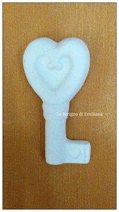 Gessetto profumato chiave matrimonio per realizzare bomboniere/segnaposto
