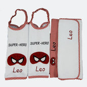 Set asilo super eroi Spiderman