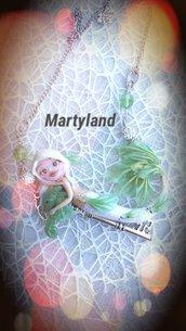 Sirena albina verde