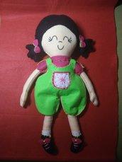 Bambola Gigy fatta a mano