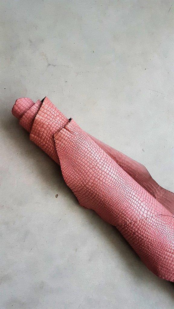 Pack di tre pelli identiche con stampato cocco, lucido e lavato A322
