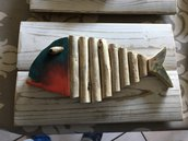 Quadretti con pesci