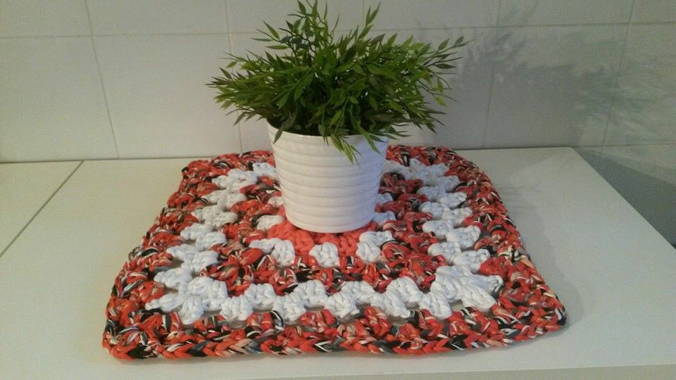 Centro tavola arancio