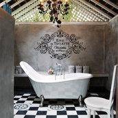 Adesivo murale Violettes de Parme Eau de Toilette