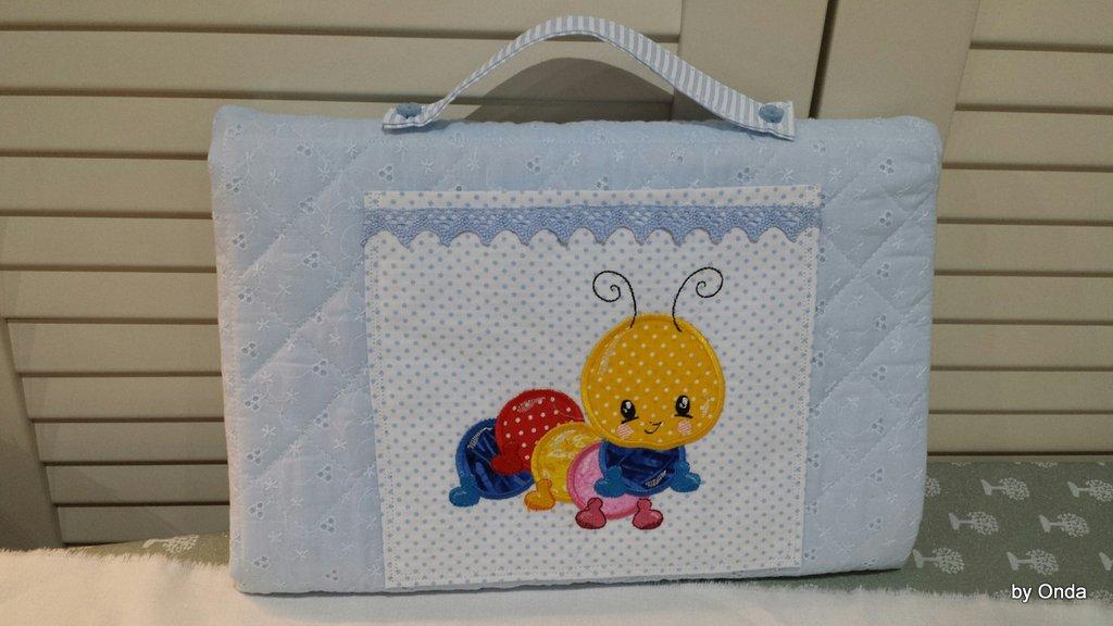 Fasciatoio da viaggio in sangallo di cotone per bambino/bambina, fantastico regalo