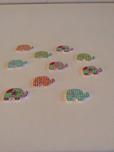 Bottoni forma elefante