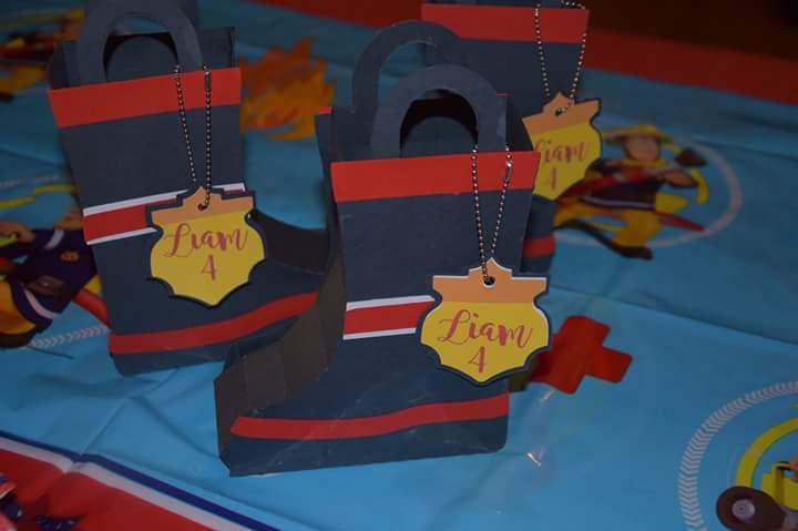 Fireman birthday party