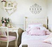 Adesivo Dream decorativo per interni