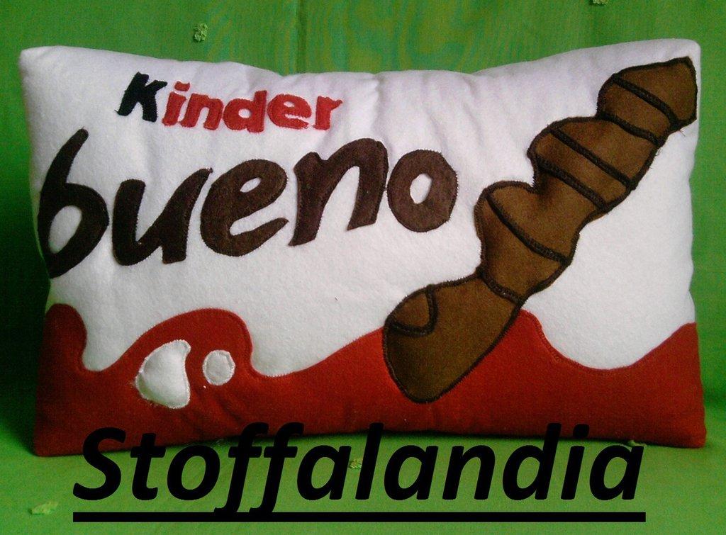 KINDER BUENO CUSCINO IDEA REGALO