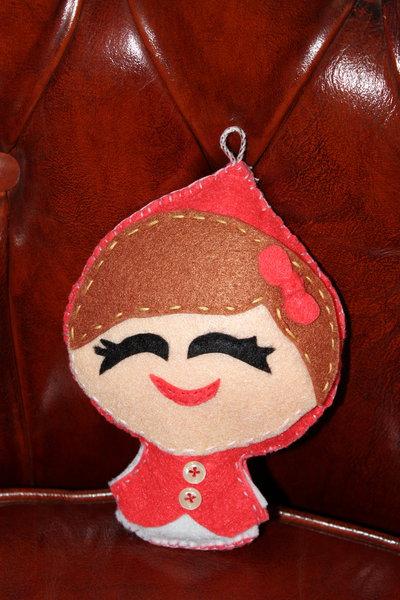 Cappuccetto Rosso in pannolenci