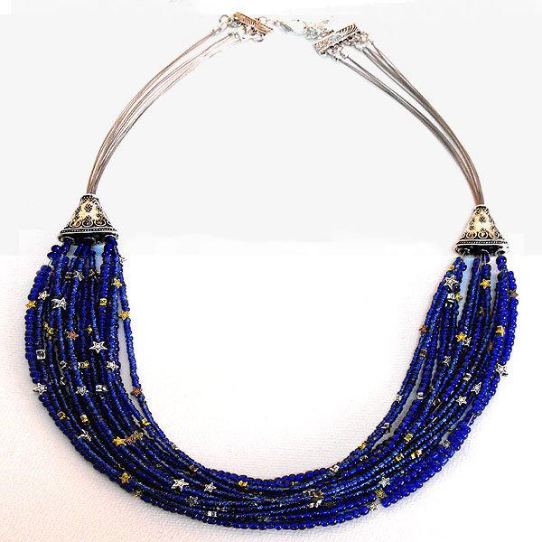 Collana multifilo CIELO STELLATO - Starry Night Necklace
