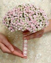 Bouquet PICCOLE ROSELLINE realizzato a mano