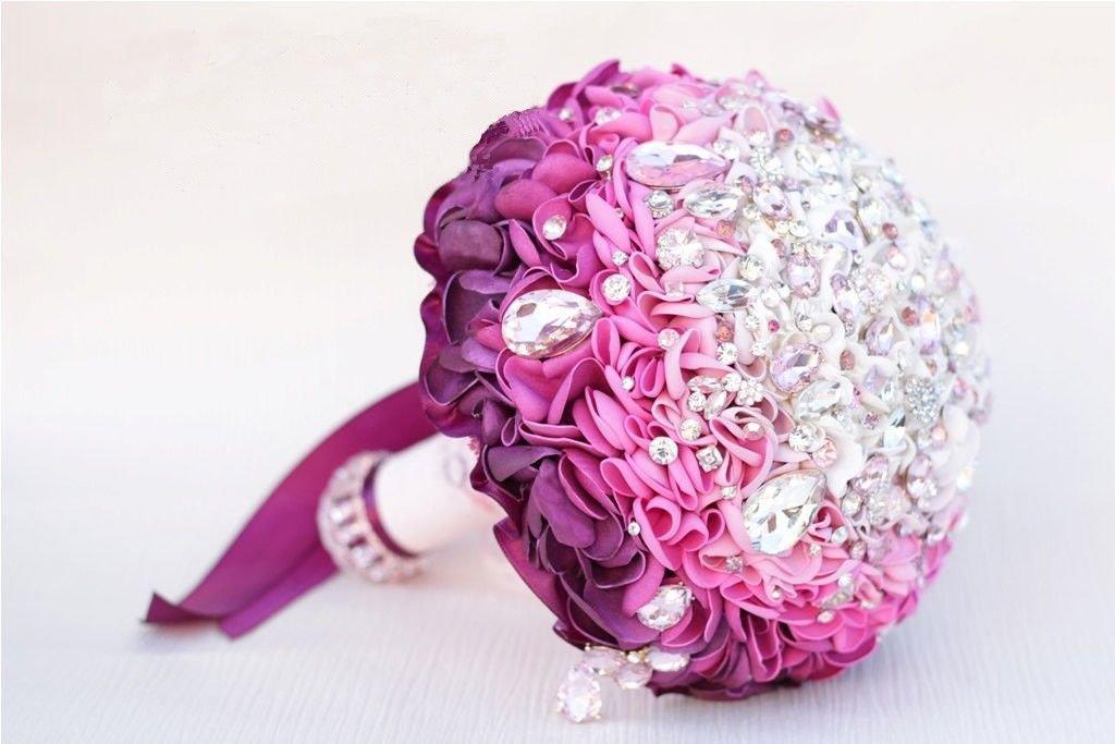 Bouquet gioiello davvero unico in petali di rose