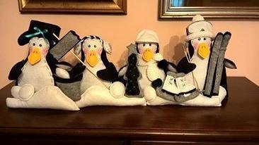 Allegri pinguini para-spifferi