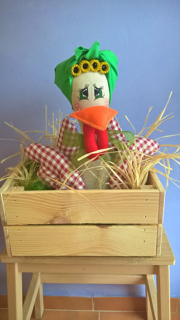 Miss gallinella ...nella cassetta