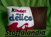 KINDER DELICE CUSCINO IDEA REGALO