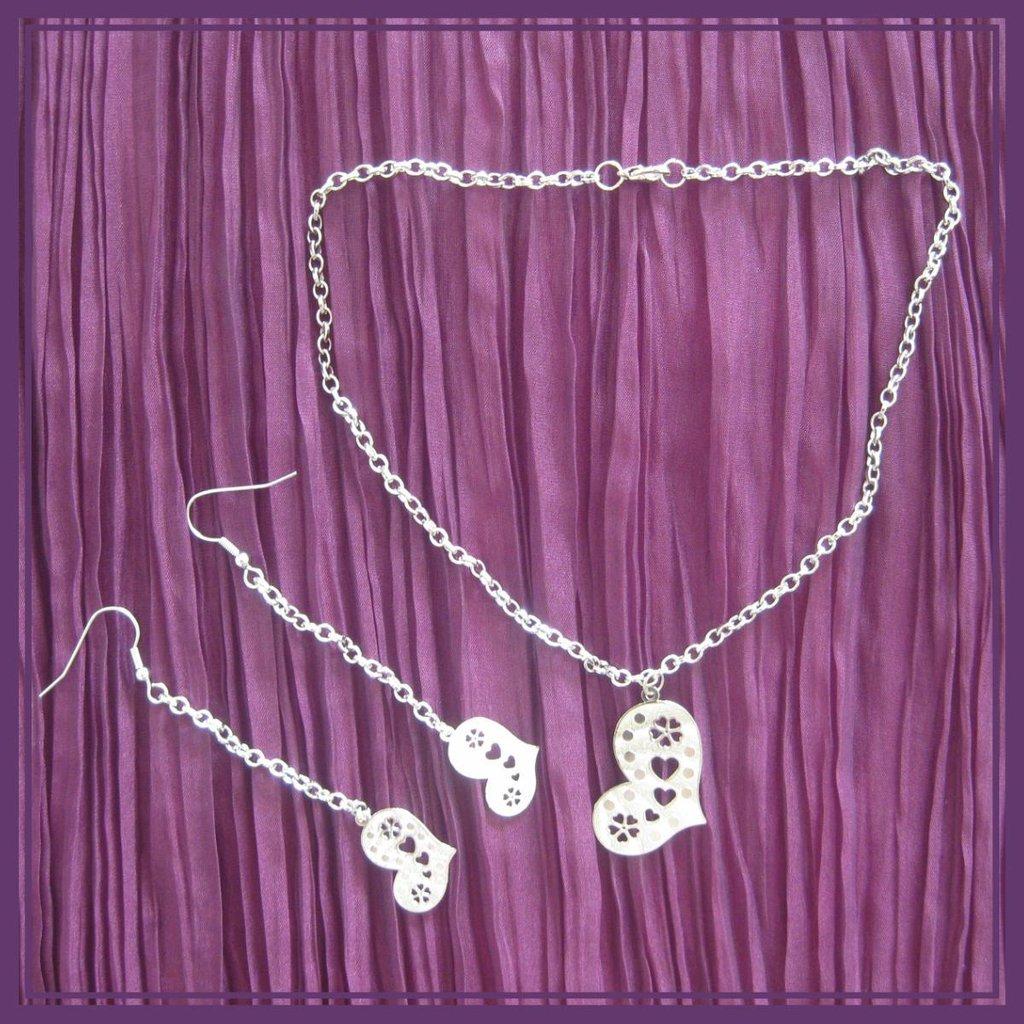 Parure cuori ♥ Jewels'A