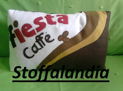 FIESTA CAFFE' CUSCINO IDEA REGALO