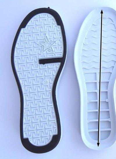 suola modello tim bianco numero38