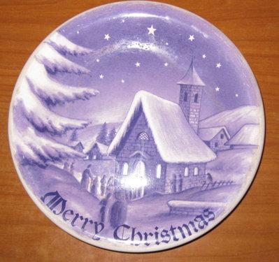 PIATTO MERRY CHRISTMAS