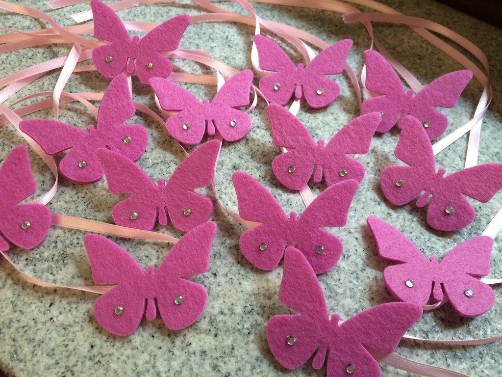 Farfalle segnaposto /chiudibomboniera