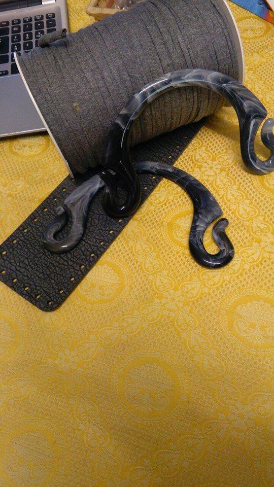 kit borsa fettuccia in cotone