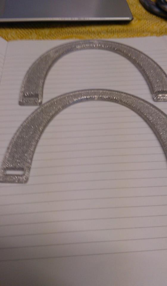 manici mezzaluna argento lurex