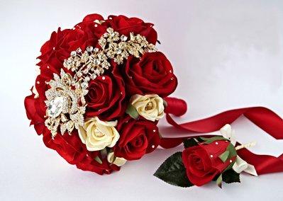 Bouquet gioiello davvero unico e indimenticabile