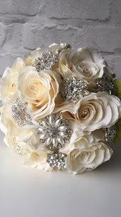 Bouquet gioiello romantico
