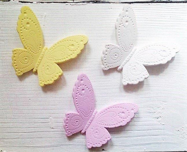 Segnaposto bomboniera farfalla colorata