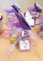 Bomboniere per farfalle e fiori