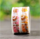 washi tape in carta di riso con dolcetti