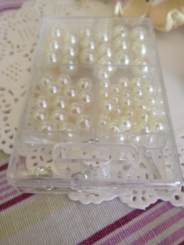 80 perle in acrilico in diverse misure