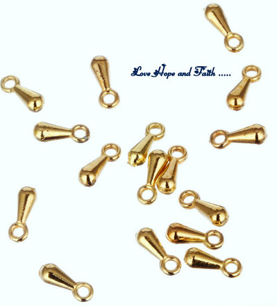 LOTTO 100 finali a goccia (7mm x 2mm) (cod.new)