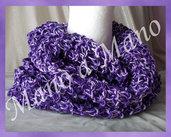 Scaldacollo in cotone - Lilla viola