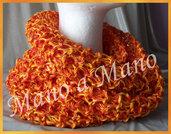 Scaldacollo in cotone - Giallo arancio