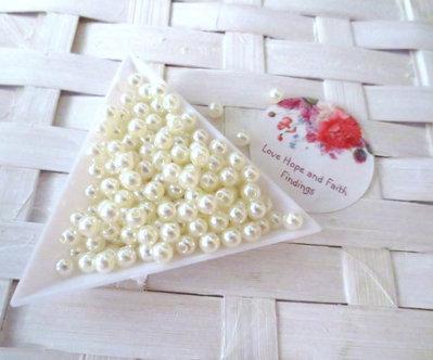 LOTTO 50 Perline in acrilico  (5mm) (cod.new)
