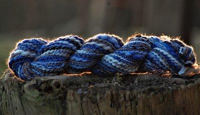 mescolanza di fibre filate a mano