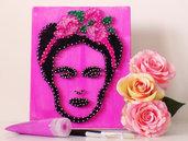 *Frida Kahlo stringart*