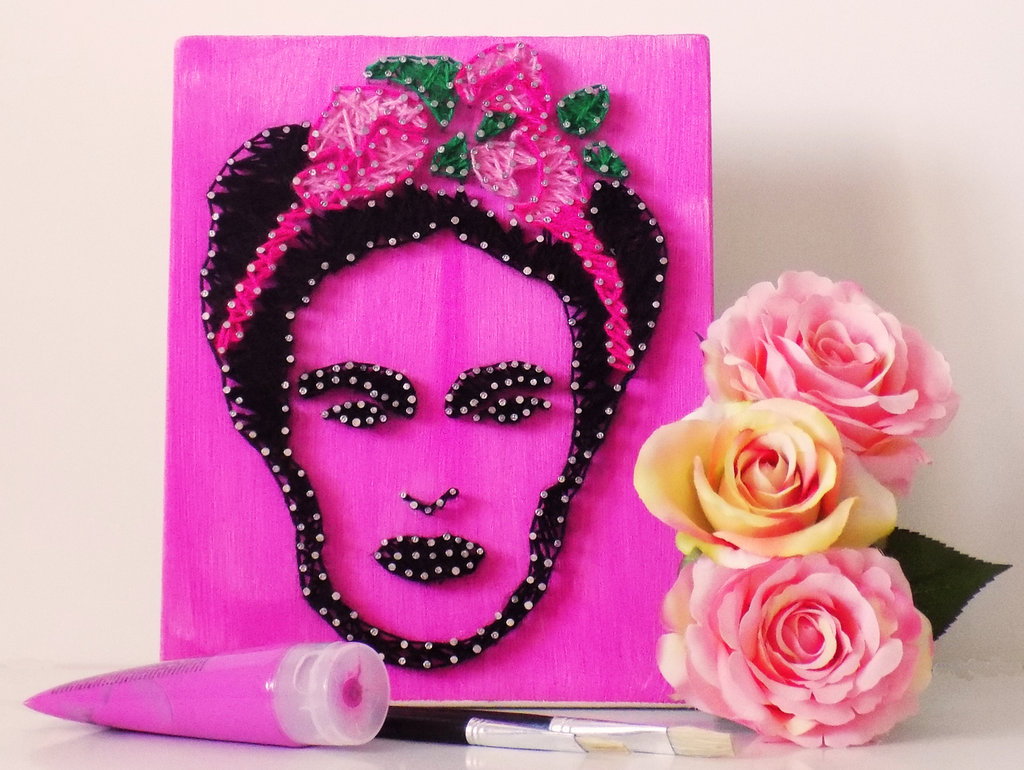 *Frida Kahlo stringart*