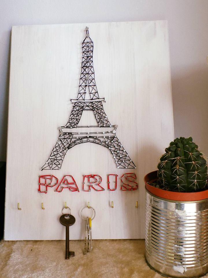 *Quadro portachiavi Tour Eiffel*