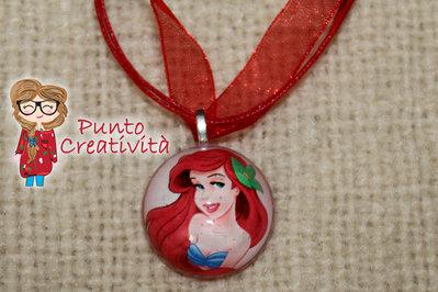 Collana Ariel in resina