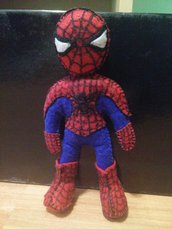 Pupazzo spiderman pannolenci