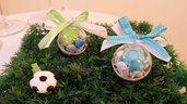 Bomboniera di pallone da calcio