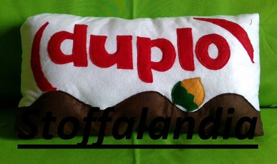 DUPLO CUSCINO IDEA REGALO